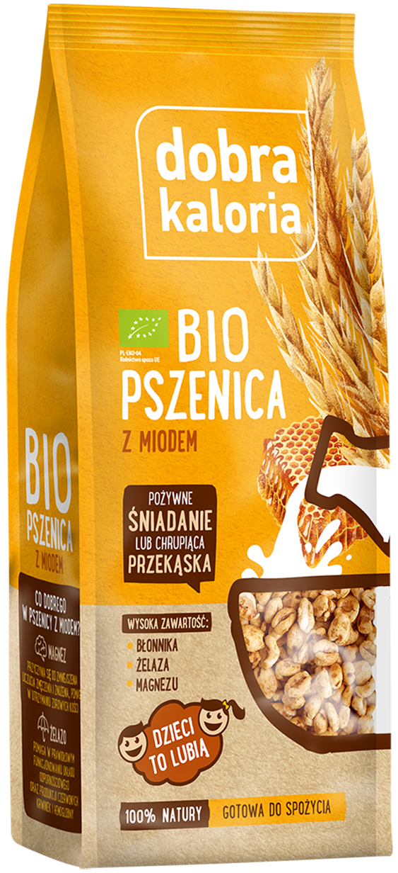 Wheat with honey bio