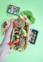 Tacos z klopsami