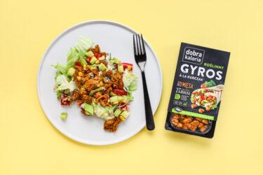 Sałatka gyros - Dobra Kaloria : Dobra Kaloria